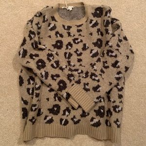 Ludovica boutique soft cheetah sweater